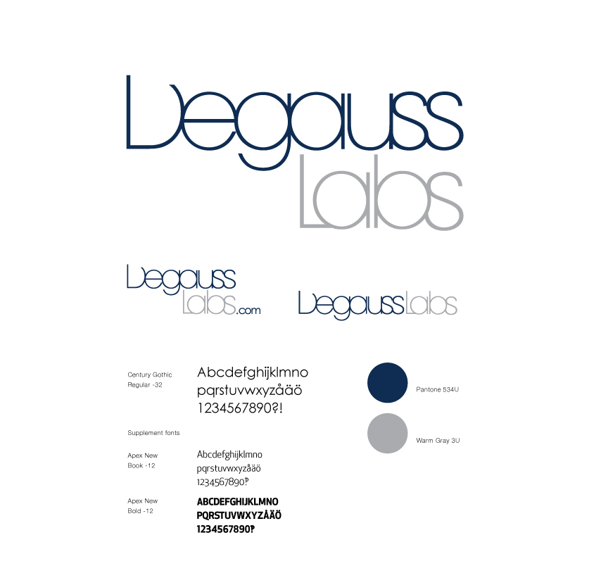 Degauss, Corporate Identity