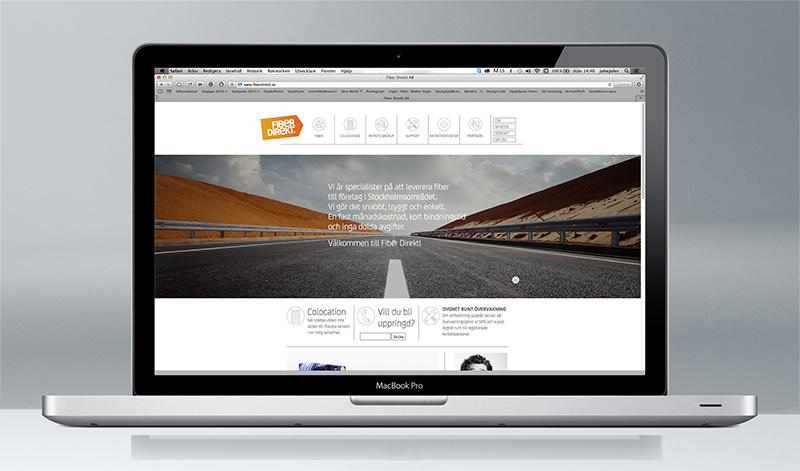 Fiber Direkt, Website, www.fiberdirekt.com