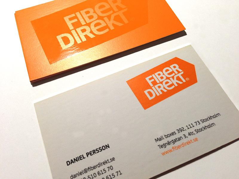 Fiber Direkt, Corporate Identity