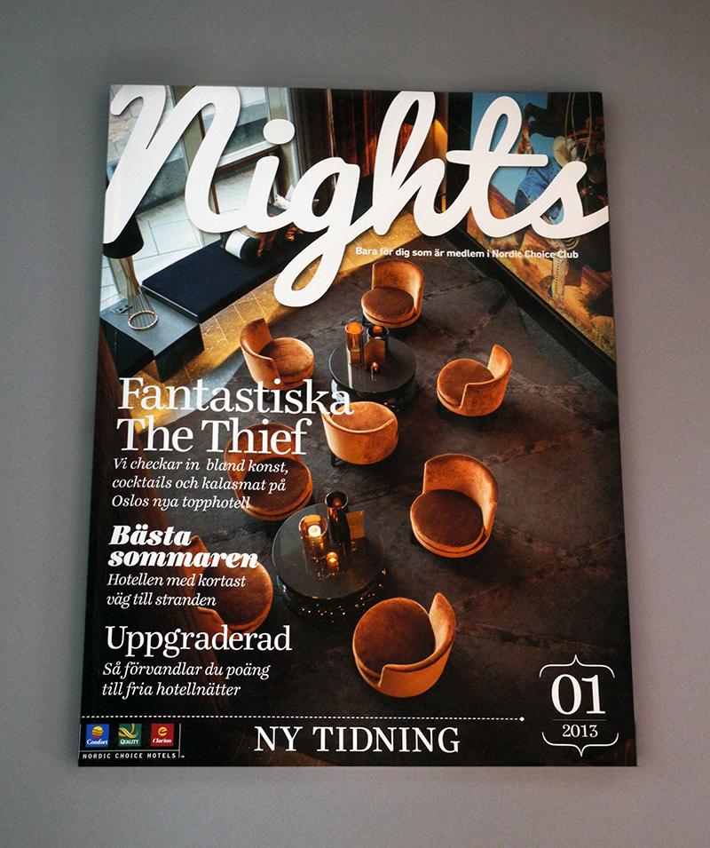 Nordic Choice Hotels, Nights #1