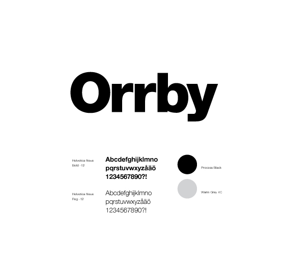 Orrby Management Corporate identity