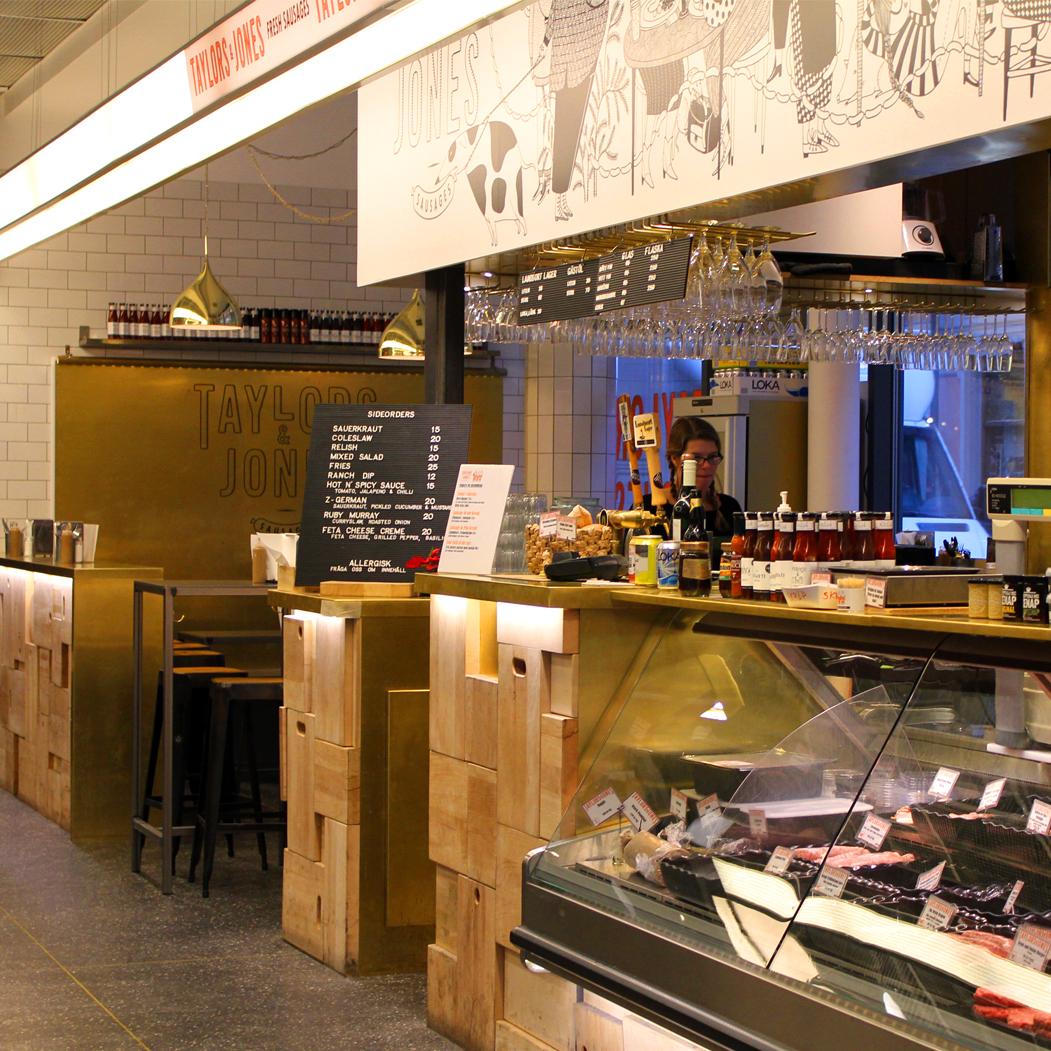 Restaurant Concept interior
