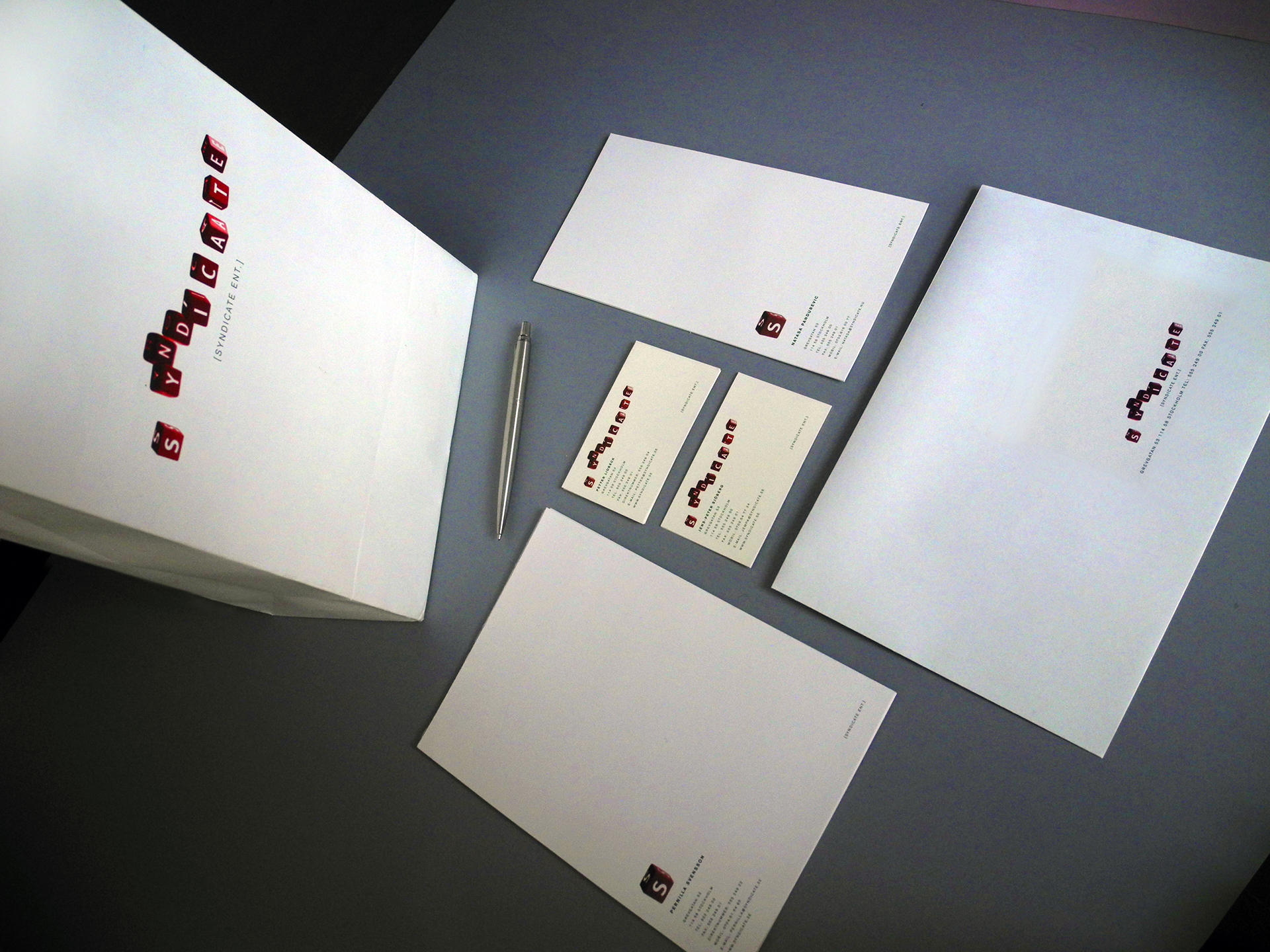 Syndicate Ent. Stationary